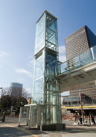 交通広場昇降機建築工事(18汐留-14)