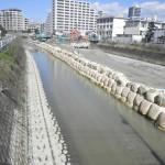 樋井川河床掘削工事7工区