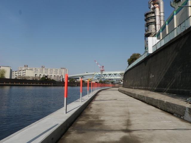 隅田川(小台橋上流)左岸テラス工事(その7)