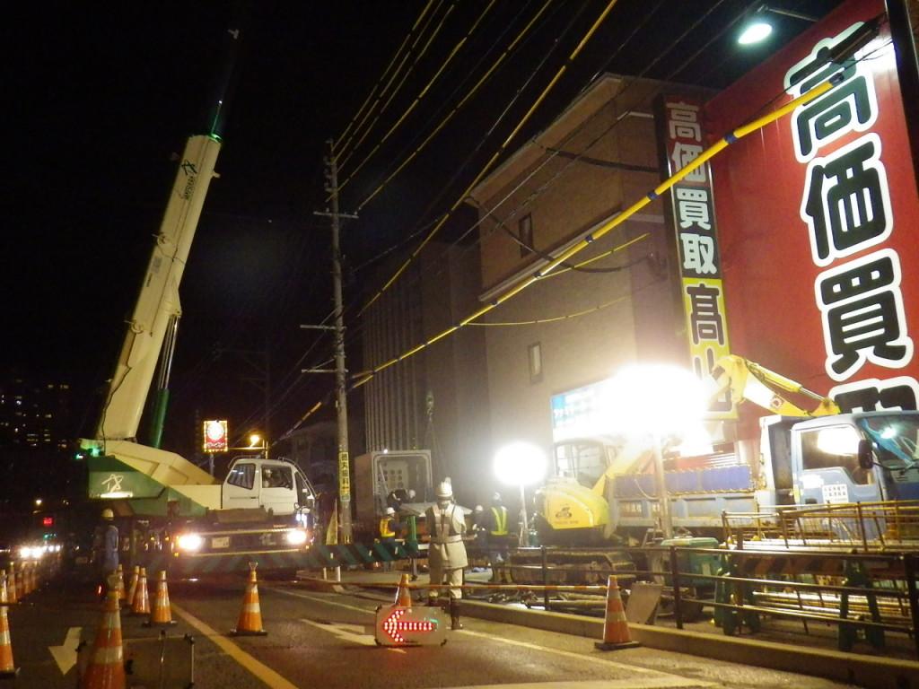 福岡3号千早・名島地区無電柱化2工区工事