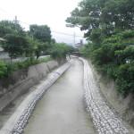 樋井川河床掘削工事3工区