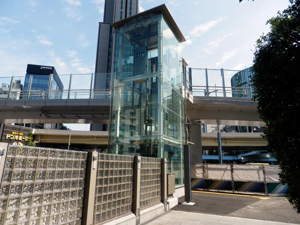 蓬莱橋横断歩道橋昇降機建築及び電気設備工事(26汐留‐5)