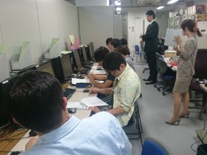 【「Gaia9」を用いて工事価格の積算体験】