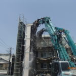 都営新宿二丁目アパート(1、2号棟)除去工事