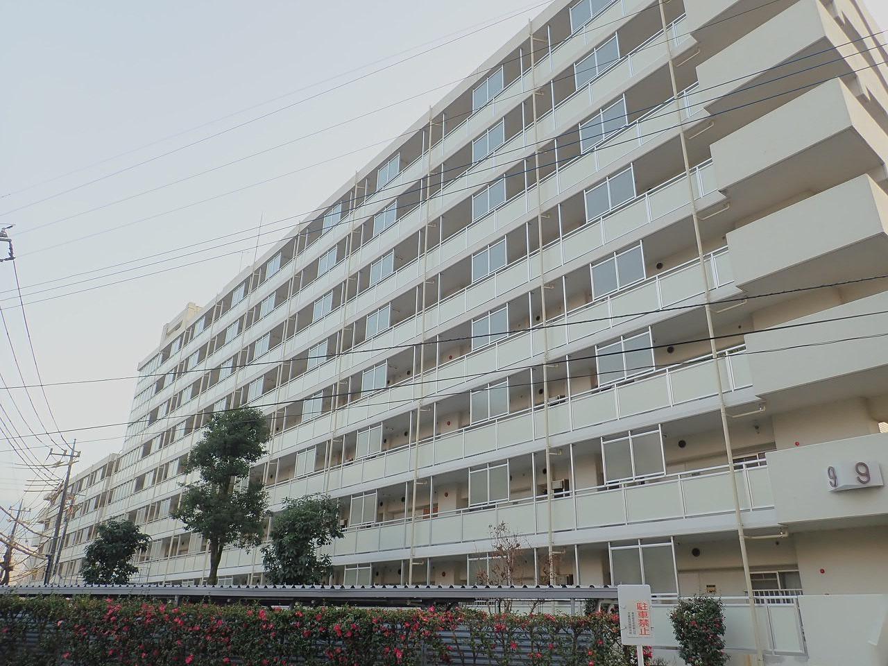 都営武蔵岡アパート(4、9号棟)廊下手摺改修及び鉄部塗装工事