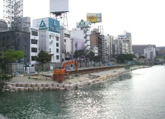 那珂川災害復旧工事