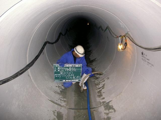 姪の浜第8雨水幹線(2)築造工事