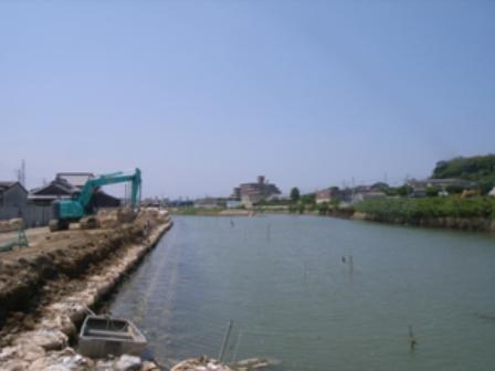 江川護岸(2工区)工事
