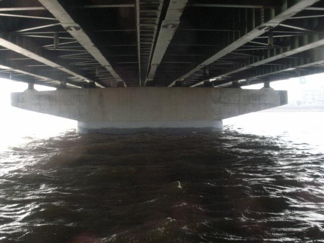 県道北九州芦屋線 御牧大橋 P2橋脚補強工事