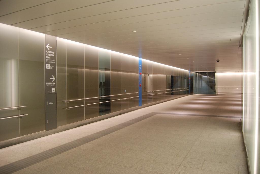 新宿歩行者専用道第2号線2-13B建築工事(23三-主4青海街道)