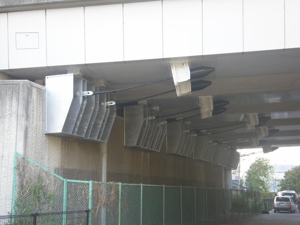 平成26年度出会い橋耐震補強工事