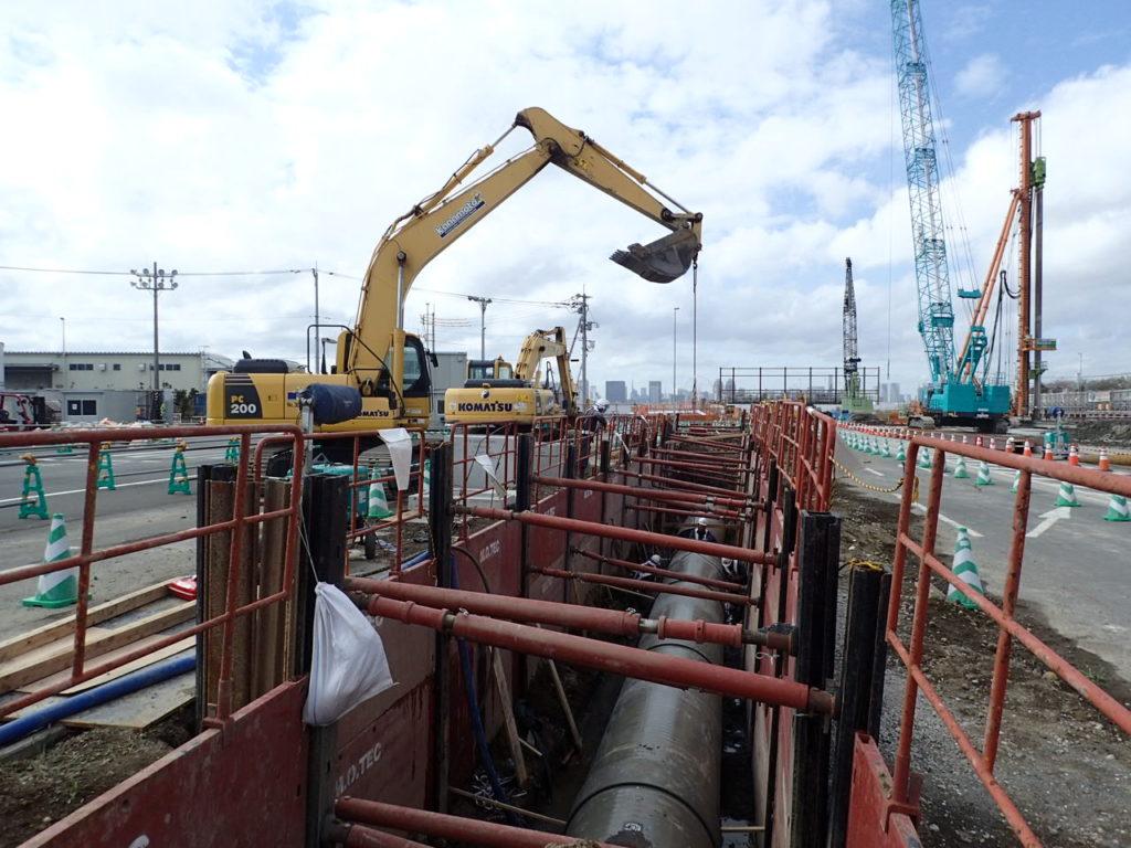 平成28年度南北線中防内側陸上トンネル雨水管設置及びその他工事