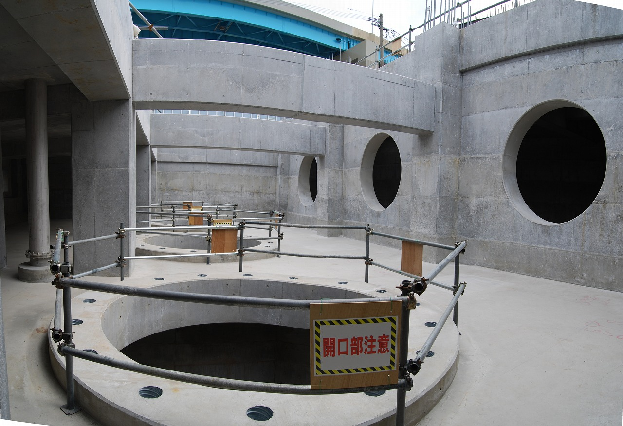 箱崎ポンプ場築造工事
