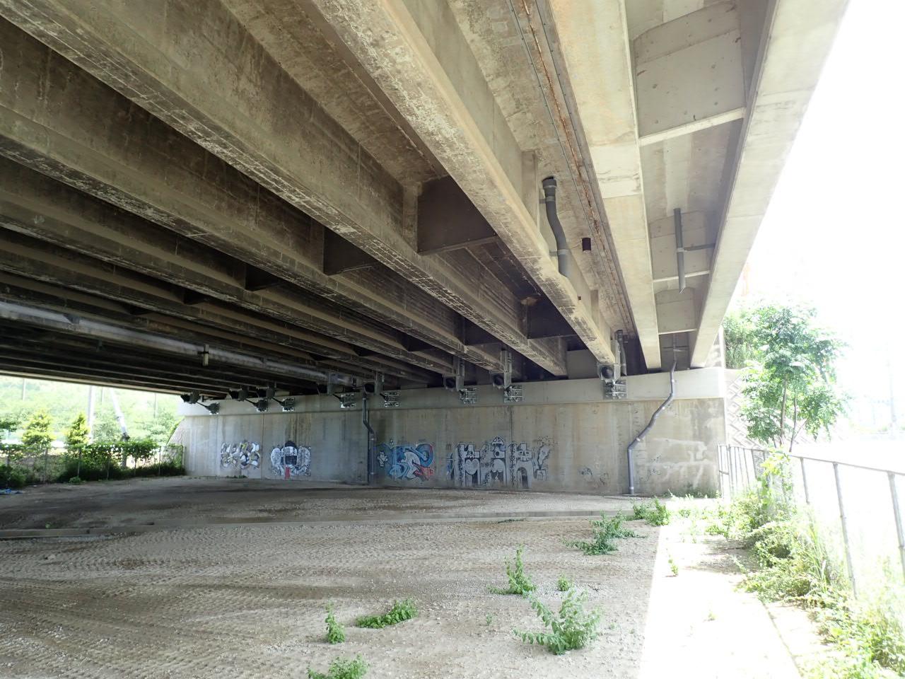 令和元年度 東大川橋耐震補強工事