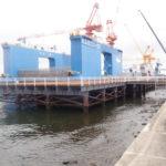 令和元年度ケーソン製作桟橋補修工事